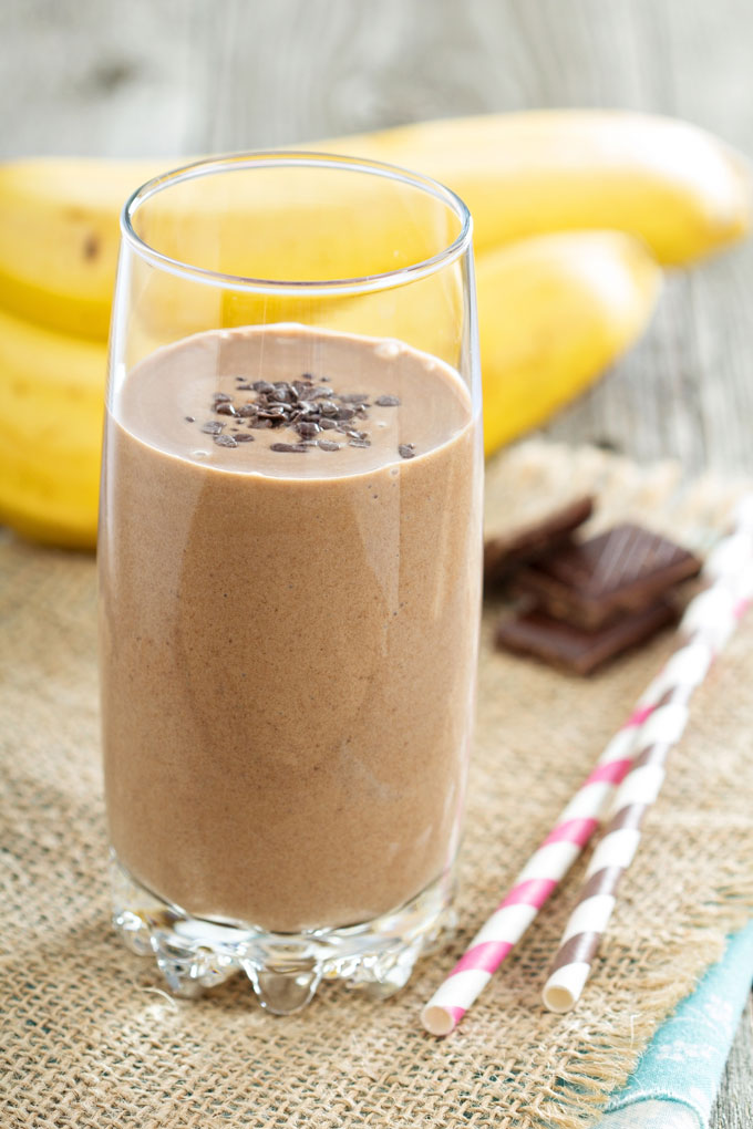 ViSalus Frozen Chocolate Banana Shake