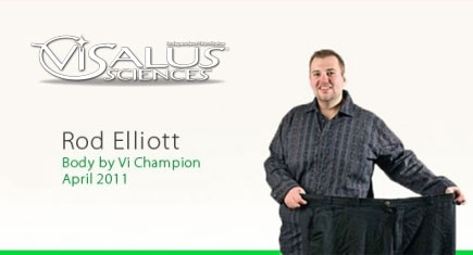 Rod Elliott lost over 100 pounds on his Body by Vi Challenge!