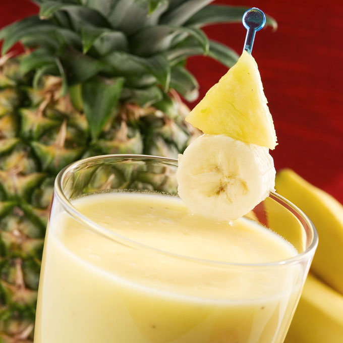 Pineapple Banana Shake