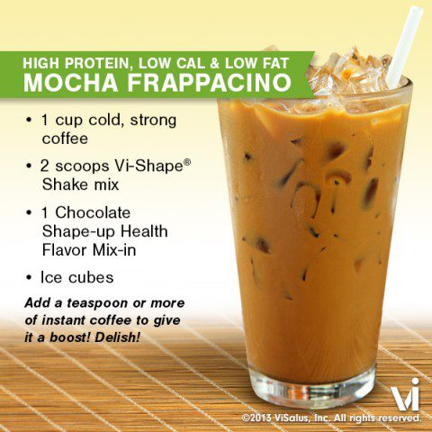 Body by Vi Shakes – The Mocha Frappacino Recipe