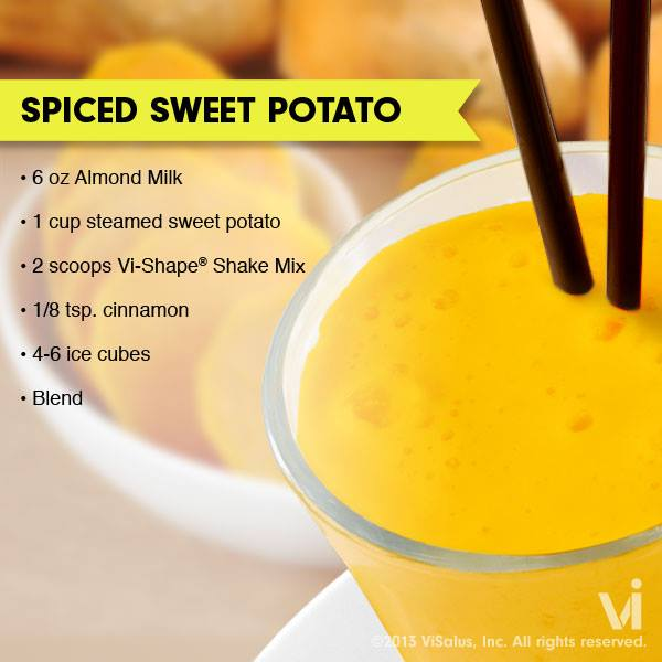 ViSalus Shakes – Spiced Sweet Potato