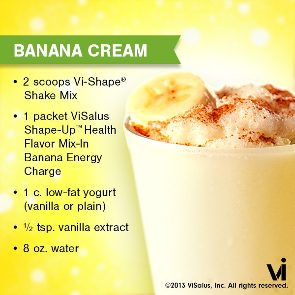 Banana Cream Pie Vi-Shake