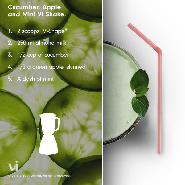 Cucumber Apple ViShake Recipe