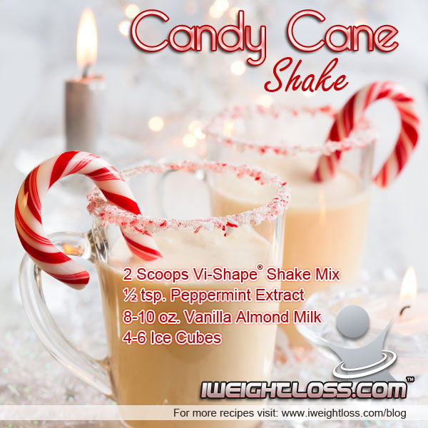 Candy Cane Shake Recipe