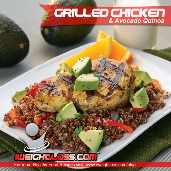 Chicken Avocado Quinoa