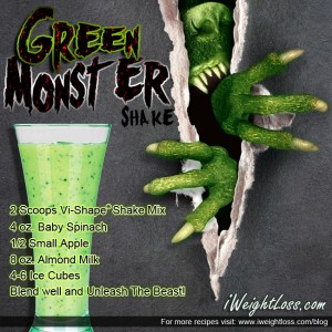 ViSalus Green Monster Shake