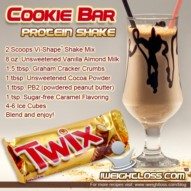 Cookie Bar Protein Shake