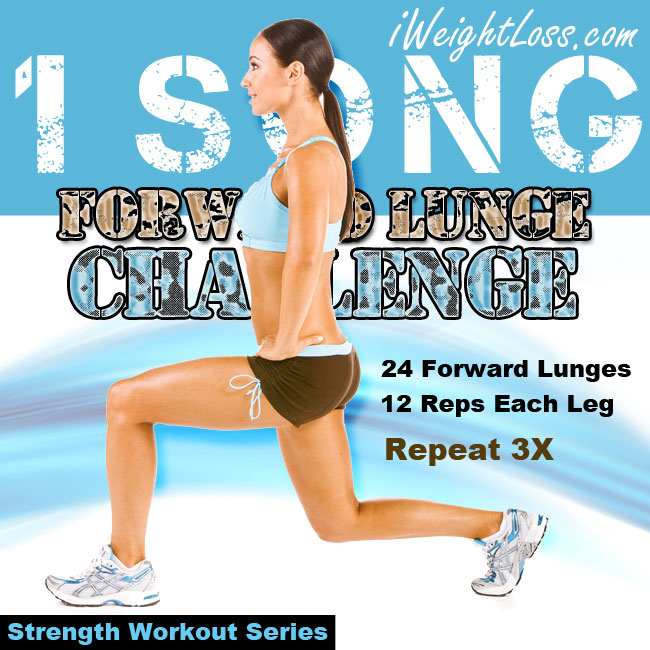 Forward Lunge Exercise