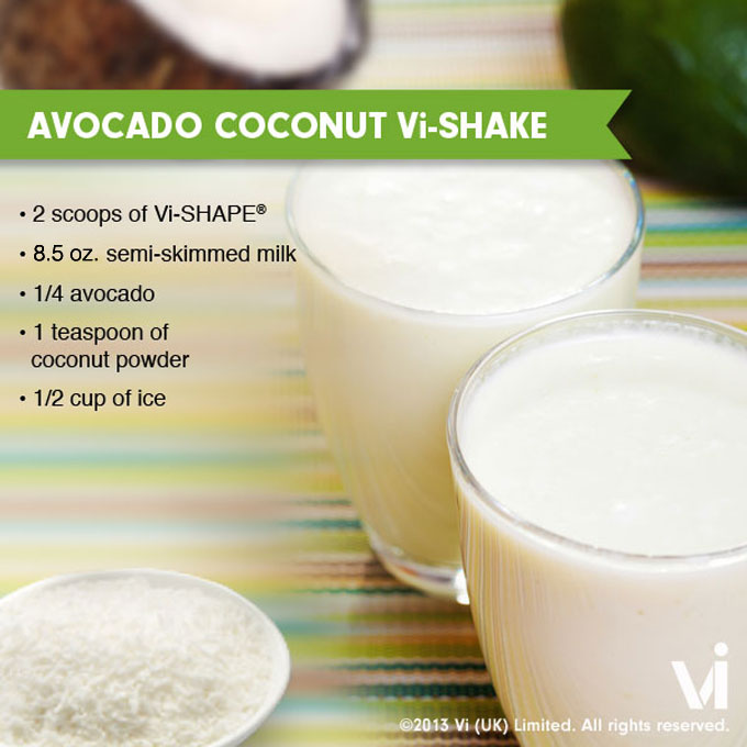 Avocado Coconut ViShake