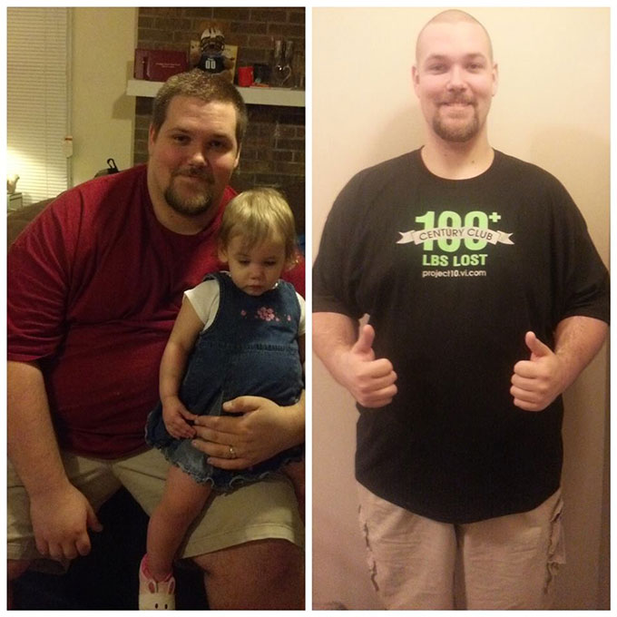 I have lost a total of 115lbs