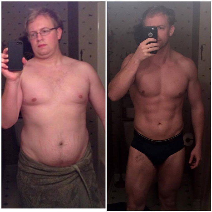 I lost 75lbs on my first 90-Day Challenge
