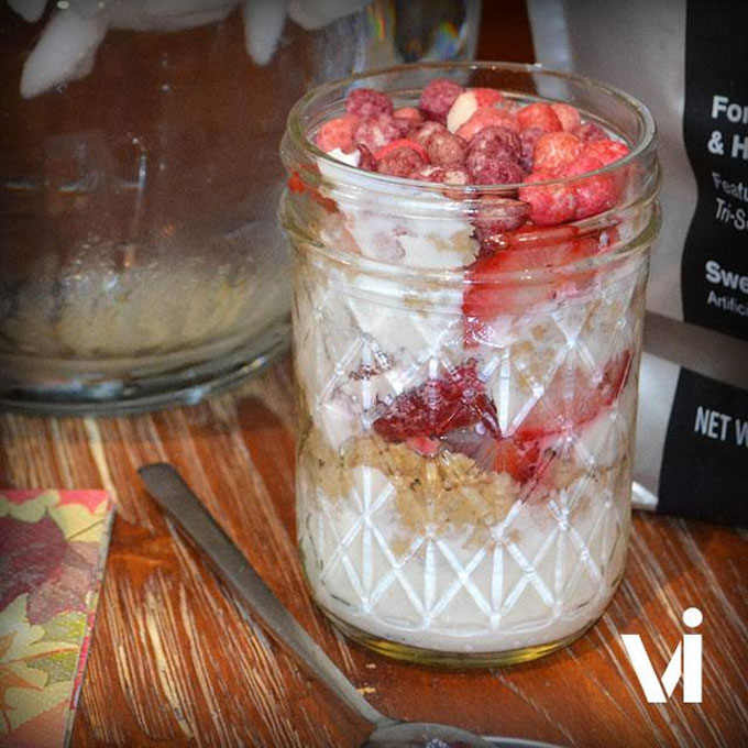 Tri-Berry Parfait Recipe