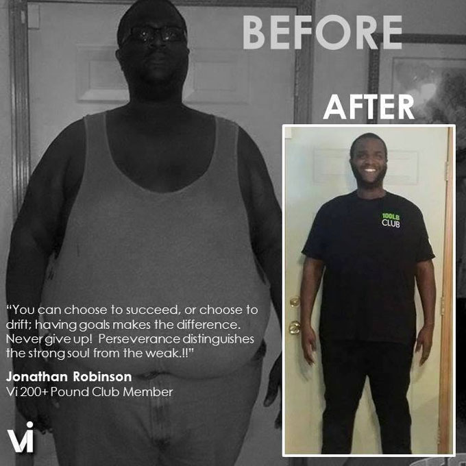 Jonathan Robinson Body by Vi Transformation